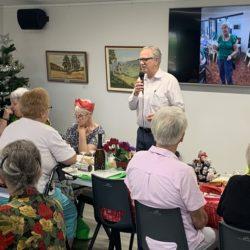 Dale Cottages Volunteer's Christmas Breakfast 2019